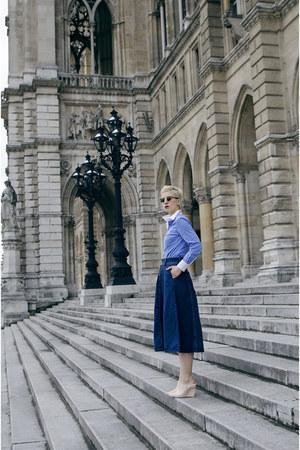 zeroUV sunglasses - Sheinside skirt