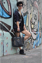 Marni for H&M jacket - wwwvj-stylecom bag - H&M shorts - wwwoasapcom sunglasses