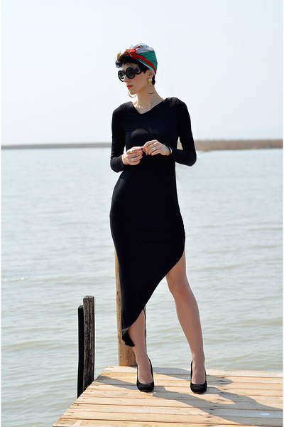 Sheinside dress - zeroUV sunglasses