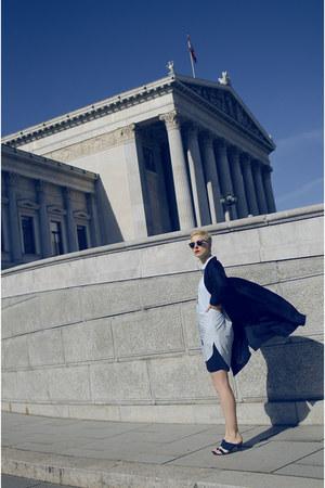 H&M Studio coat - H&M Studio shoes - H&M Studio shorts