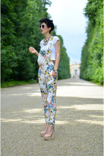 Randa shoes - giant vintage sunglasses - Zara bodysuit