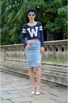 Zara skirt - Zara shoes - Primark shirt - zeroUV sunglasses