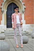 H&M jeans - OASAP sunglasses - AHAISHOPPING blouse