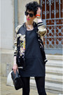 Zara-dress-zara-jacket-zara-bag-zerouv-sunglasses