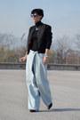 Maison-martin-margiela-with-h-m-jeans-h-m-jacket