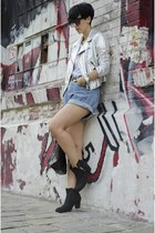 wwwchicnovacom shorts - Topshop boots - Zara jacket - wwwoasapcom sunglasses