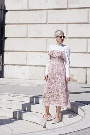 Puma shoes - H&M Trend dress