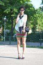 H&M Trend blouse - wwwoasapcom sunglasses