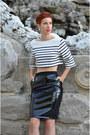 Mart-of-china-shoes-rocks-paper-metal-earrings-h-m-skirt
