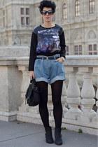 wwwchoiescom blouse - Topshop boots - wwwnowistylejp bag - wwwchicnovacom shorts