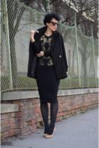 wwwchoiescom coat - Maison Martin Margiela for H&M shoes - wwwaxpariscouk dress