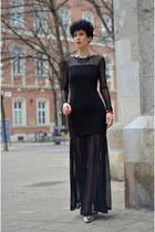 H&M Trend dress - Rockpapermetal necklace
