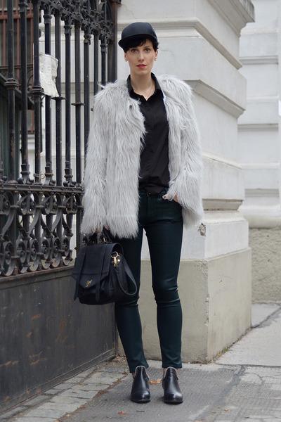 Lookbook Store coat - wwwoasapcom boots - Zara jeans - wwwnowistylejp bag