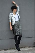 Zara jacket - Isabel Marant boots