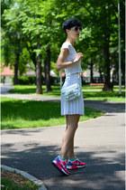 Zara bag - nike sneakers