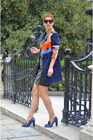 Sheinside coat - H&M skirt - Zara heels