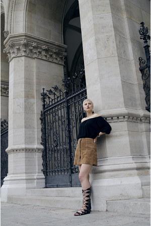 Topshop skirt - Topshop shoes