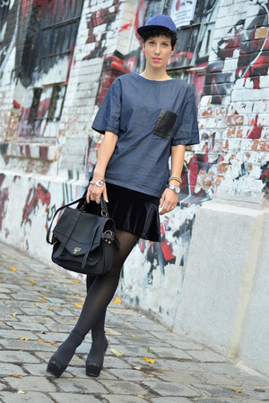 H&M hat - Zara shoes - H&M shirt - wwwnowistylejp bag