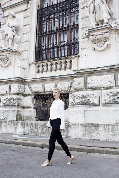 H&M pants - Zara shoes - H&M blouse