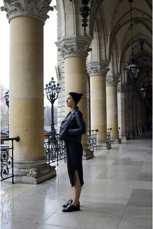 Zign shoes - OASAP dress - Alexander Wang x H&M jacket