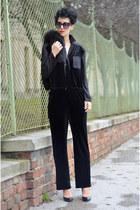 PERSUNMALL shoes - OASAP sunglasses - Sheinside romper