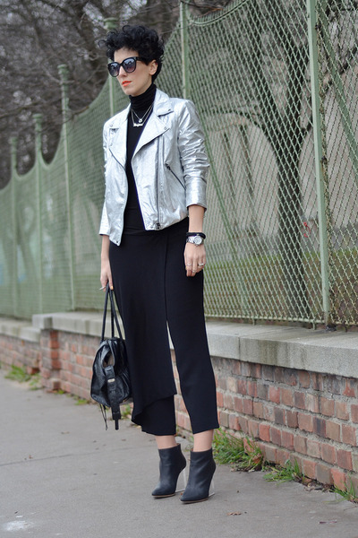 Zara jacket - Maison Martin Margiela for H&M shoes - Zara pants