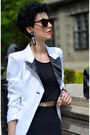 Asos-skirt-h-m-shoes-sheinside-blazer-zara-bag-zerouv-sunglasses