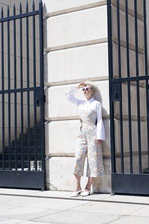 Zara shoes - H&M Trend pants