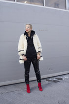 H&M Studio coat - Zara pants