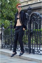 H&M shoes - H&M Trend blazer - H&M Trend pants