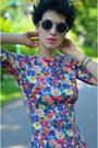 My-monogram-necklace-necklace-zara-dress-giant-vintage-sunglasses