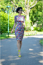 Zara-dress-giant-vintage-sunglasses-h-m-sandals