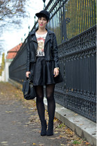 wwwsheinsidecom jacket - Zara shoes - H&M hat - H&M shirt - wwwnowistylejp bag