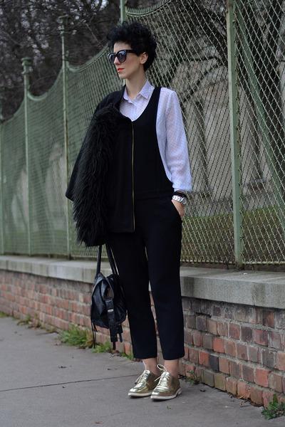Zara shoes - Zara jacket - wwwoasapcom sunglasses - Zara suit