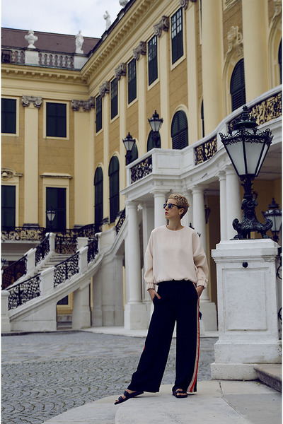 H&M Trend blouse - h&m divided shoes - H&M Trend pants