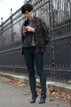 Zara jacket - Maison Martin Margiela for H&M shoes - Zara jeans
