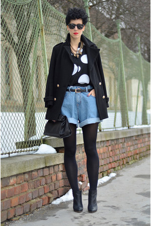 H&M Trend blouse - Maison Martin Margiela for H&M boots - Choies coat