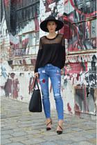 Martofchina shoes - GINA TRICOT sweater - Mango bag