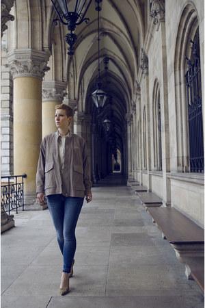 H&M Trend jacket - H&M Trend shoes - H&M jeans