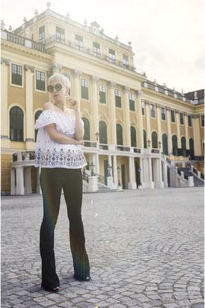 H&M jeans - zeroUV sunglasses
