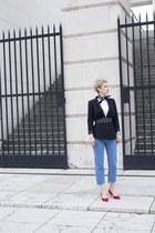 Sheinside jeans - Zara blazer