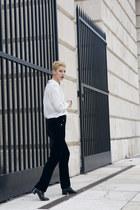 Sheinside blouse - Ralph Lauren pants