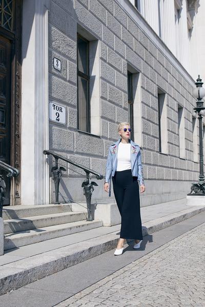 Rosegal jacket - Zara shoes - H&M pants