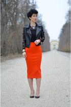 H&M skirt - Sheinside jacket