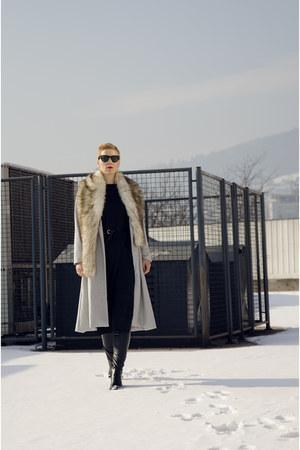 Sheinside coat - OASAP dress