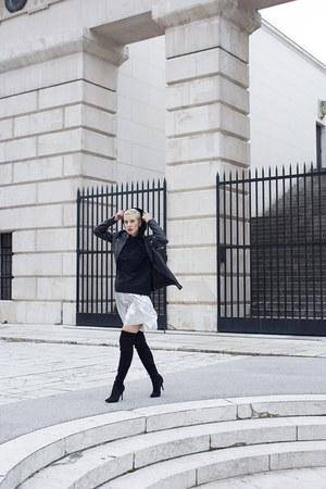 Zara jacket - Deichmann boots - Zara sweatshirt