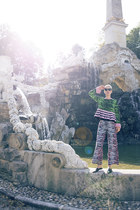 H&M shoes - Kenzo x H&M sweater - Kenzo x H&M pants