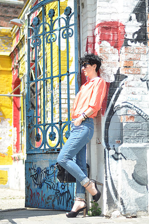 H&M Trend jeans - wwwoasapcom sunglasses