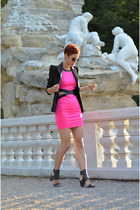 zalando shoes - AX Paris dress - Sheinside blazer - zeroUV sunglasses