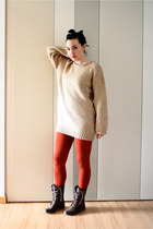 Pimkie boots - Pimkie sweater - asos leggings